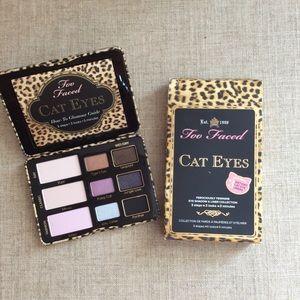 NIB Too Faced Cat Eyes Eyeshadow Palette
